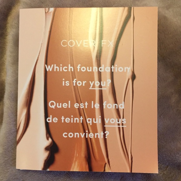 COVER FX Other | COVER FX Power Play Foundation Samples | Poshmark